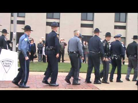 140th basic class graduation from the west virginia state police academy