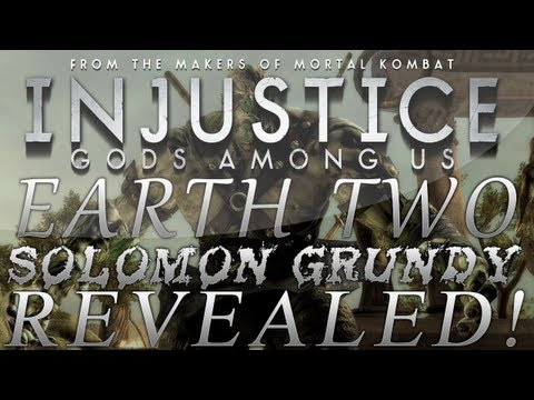 Injustice: Gods Among Us | Earth 2 Solomon Grundy DLC Skin Revealed