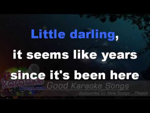 Here Comes The Sun  - The Beatles (Lyrics KAraoke) [ goodkaraokesongs.com ]