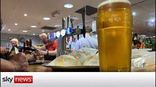 Lower league football clubs could take part in drinking trial