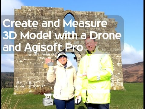Measuring a 3D Model with DJI Phantom 4 and Agisoft Pro Tutorial