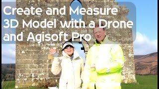 Measuring a 3D Model with DJI Phantom 4 and Agisoft Pro Tutorial