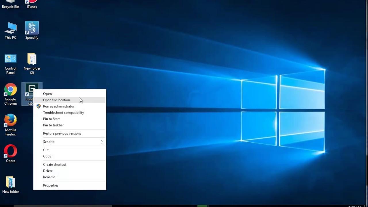 Uninstall ConEmu (x64) in Windows 10