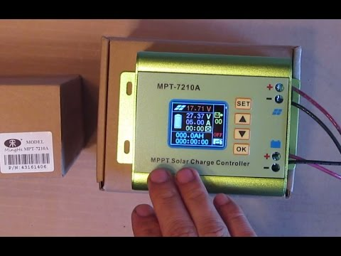 Review: The world's cheapest 10A MPPT solar charge controller? Ming He MPT-7210A