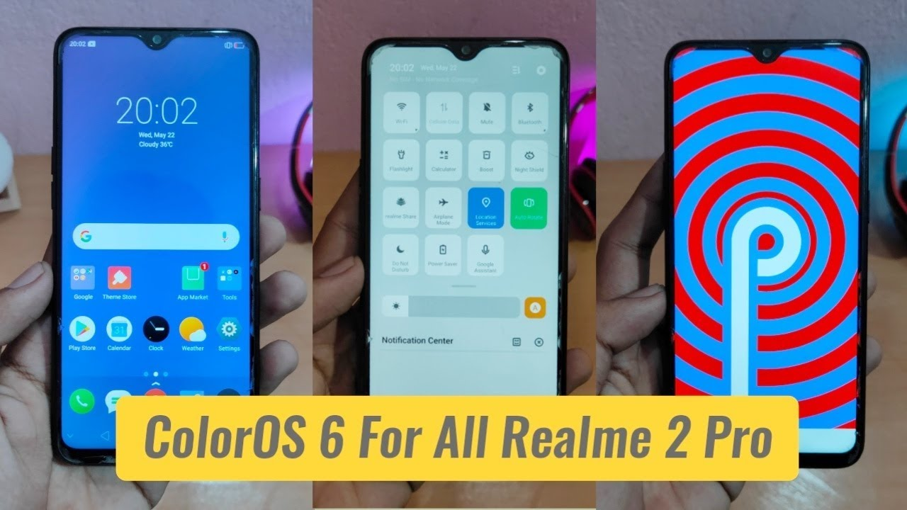 ColorOS 6 is Now Available For Every Realme 2 Pro : Install Now