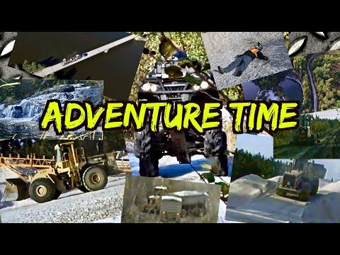 Awesome ATV Adventure - Waterfalls, Quartz Mine, Graders, Tr