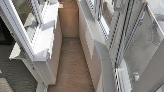 Серия дома п-44. ремонт лоджии 3 метра под ключ..