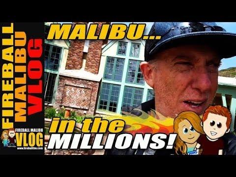 MILLION DOLLAR MALIBU HOMES, CARS & THE BEST VLOG EVER - FIREBALL MALIBU VLOG 781