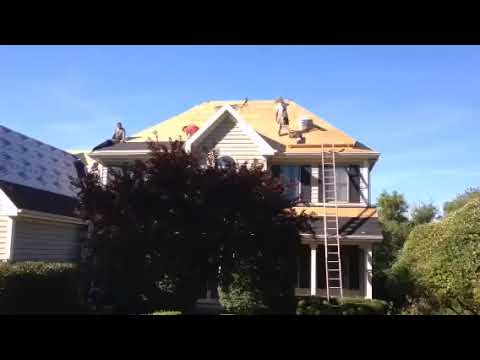 Roof Tear Off and Replacement