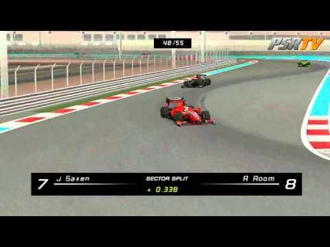 rFactor F1 2011 Formula SimRacing Broadcasts - Round 15 United Arab Emirates, Abu Dhabi