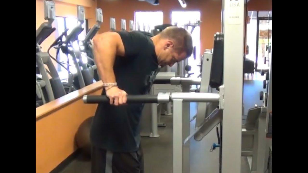 Vince Gironda DIPS for Bigger Pecs - YouTube