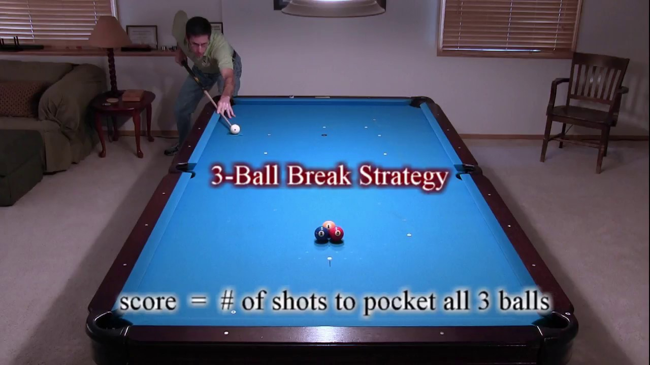 How To Set Up Pool Balls Quora >> 3 Ball Pool Break Strategy And Tips How To Make A Ball And Score Low