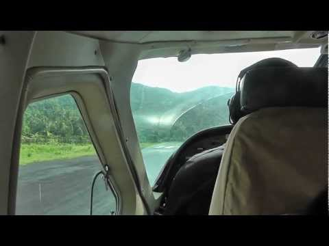 Takeoff with Inter Iles Air from Anjouan to Mayotte 08/01/2013 [HD]