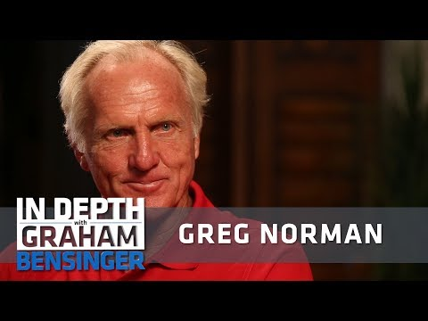 Greg Norman on Tiger Woods: We don't talk