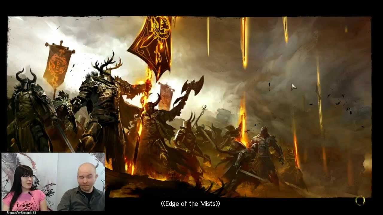 Guild Wars 2 Developer Preview Edge Of The Mists Wvw Map Youtube