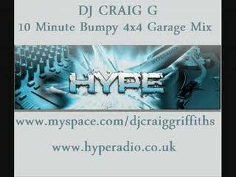 DJ Craig G - 10 Minute Bumpy 4x4 Garage Mix