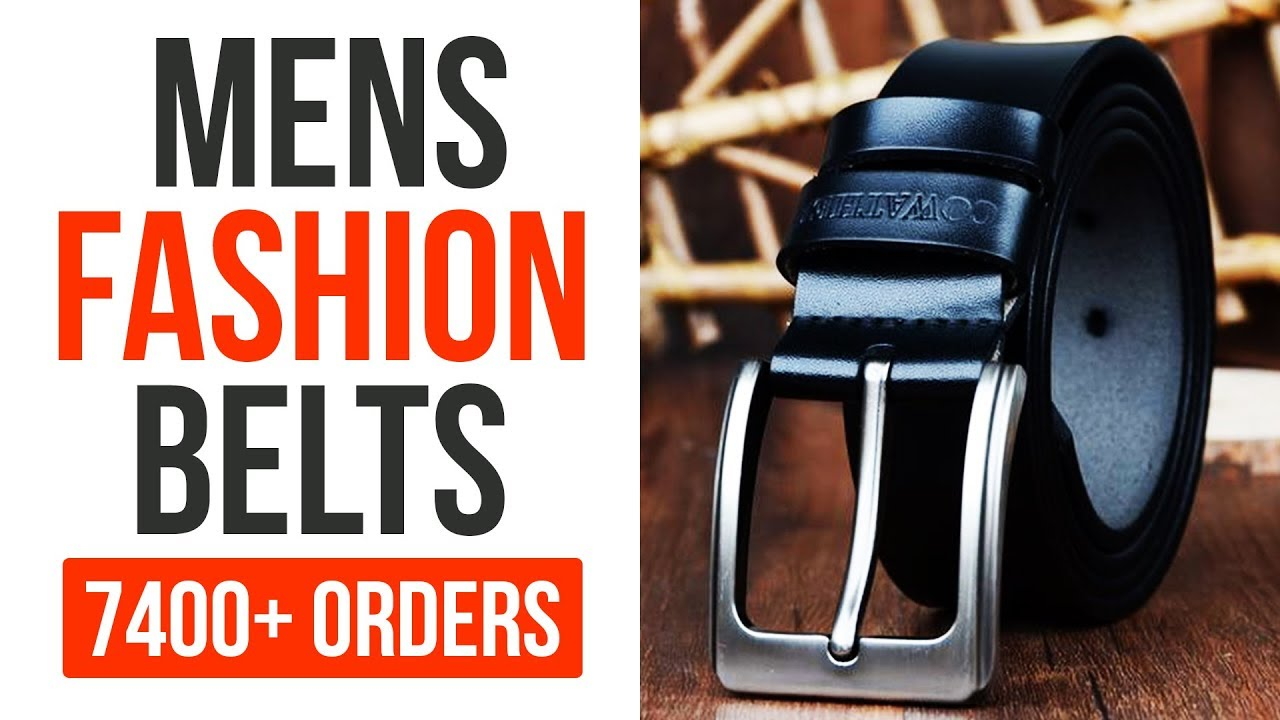 Mens Fashion Belts 2018 Youtube