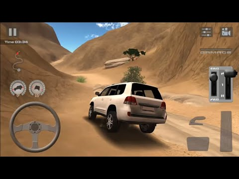 Offroad drive: Desert -Toyota Land Cruiser 200 Level 4