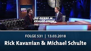 Die Pierre M. Krause Show vom 13.03.2018 mit Rick Kavanian & Michael Schulte