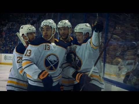 Casey Mittelstadt, Alexander Nylander notch first NHL goals for Sabres