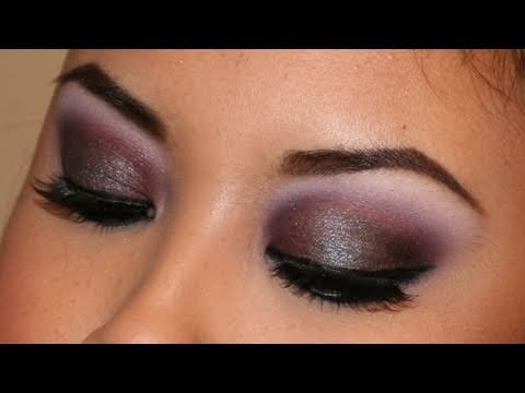 Holiday Look #2 - Smoky Play On Plums (feat. Wet'n'Wild)