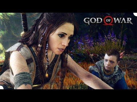 GOD OF WAR #5 - Uma Misteriosa Pessoa! (PS4 Pro Gameplay em Português PT BR)