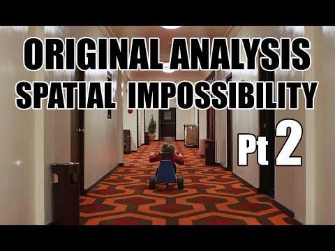 Film psychology THE SHINING spatial awareness and set design 2of2