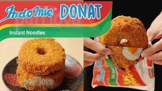 cara membuat donat indomie goreng mozarella indomie goreng donut