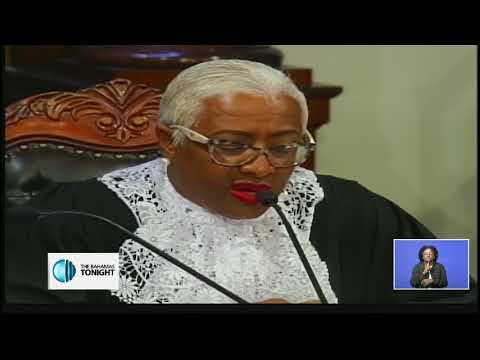 SENATE PRESIDENT APPLAUDS WORK OF WOMEN IN THE BAHAMAS