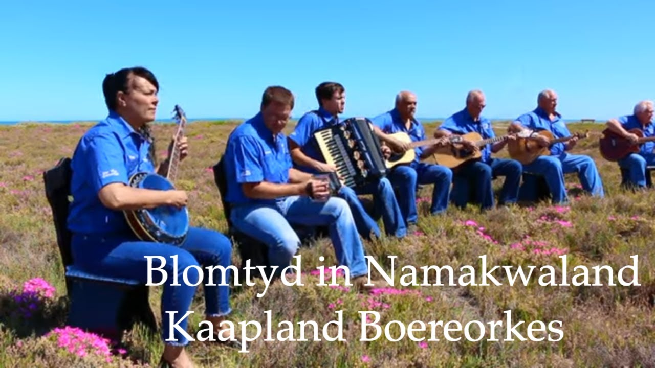 Download Music Video 1 (Blomtyd in Namakwaland - Kaapland Boereorkes)