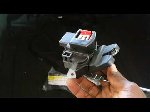 Kia and Hyundai trunk latch replacement