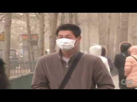 Sand storm in Beijing