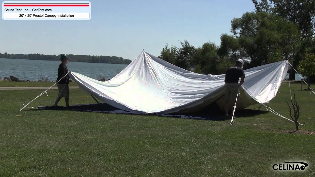 20u0027 x 20u0027 Presto! Canopy Installation Procedure & 20u0027 x 20u0027 Presto! Canopy Installation Procedure - YouTube