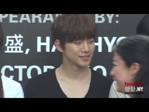 130830 Junho - Cold Eyes SG Premiere Meet & Greet In Jurong Point