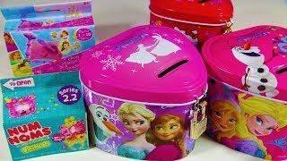 Disney Frozen Jewelry Box Kinder Joy Surprise Egg Num Noms Lights Disney Princess Gem Dig It