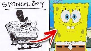 The Crazy Origins Of Spongebob Squarepants | From Comic Book To TV Series
