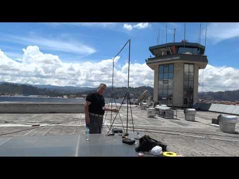Repeat RadioWavz NVIS loop antenna airport control tower