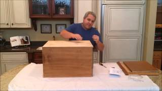 Night Stand, Type 1 - Secret Compartment- Assembly Video