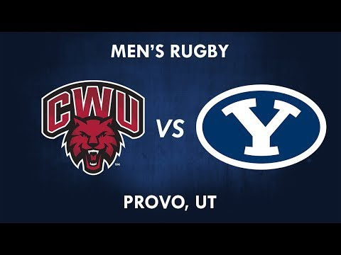 Central Washington vs BYU Rugby 17 March 2018