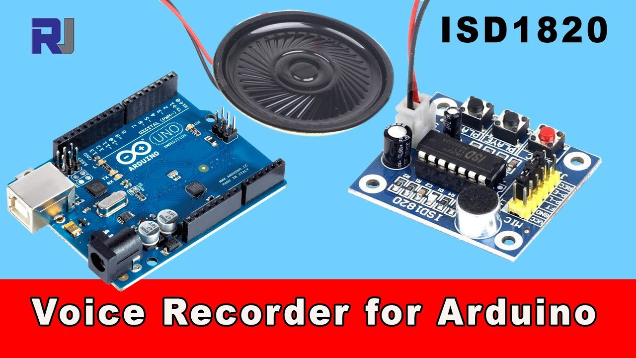 Arduino Talks with ISD1820 Voice recorder player module with Arduino code