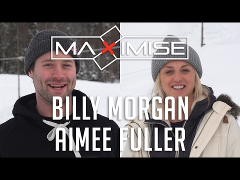 Billy Morgan & Aimee Fuller at Maximise