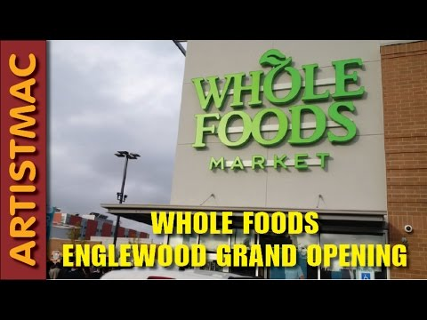 Whole Foods Englewood and Starbucks Grand Opening