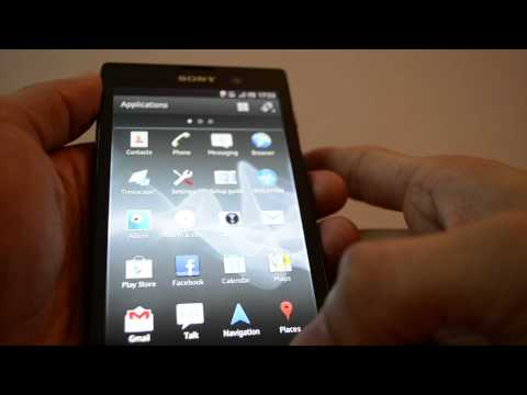 Sony Xperia Ion - Music Player Video Player Review