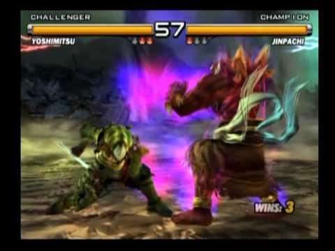 Tekken 5 Yoshimitsu Vs Jinpachi Youtube
