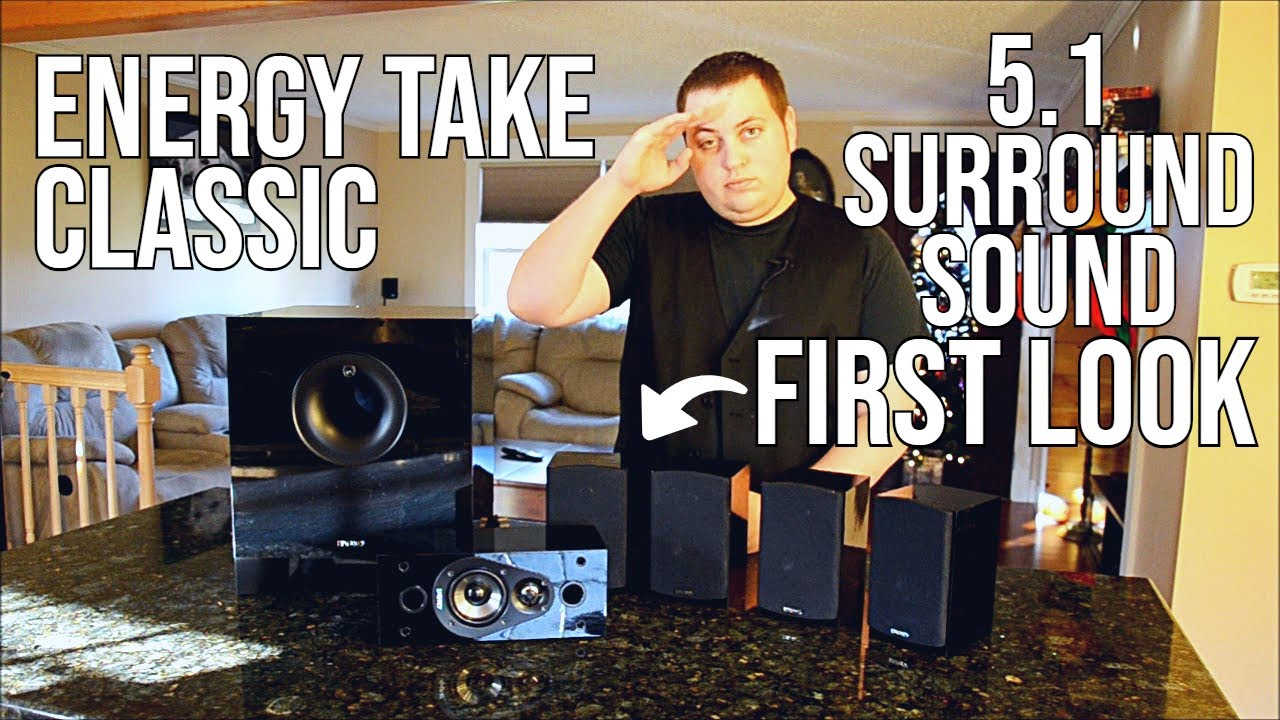 Energy Take Classic 5 1 Home Theater System First Look
