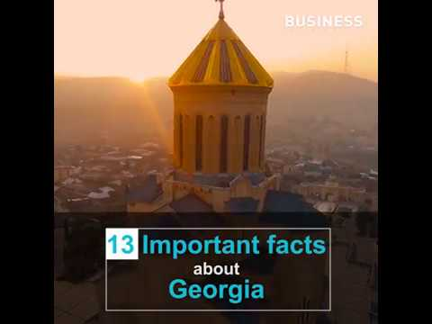13 Facts About Georgia / BUSINESS GEORGIA