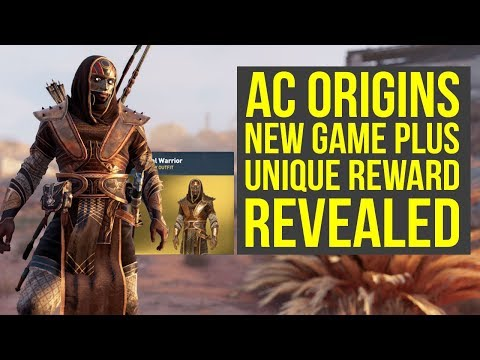 Assassin's Creed Origins New Game Plus Reward REVEALED - New Outfit (AC Origins New Game Plus)