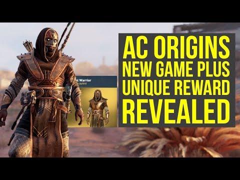 Assassin's Creed Origins New Game Plus Reward REVEALED - New Outfit (AC Origins New Game Plus)