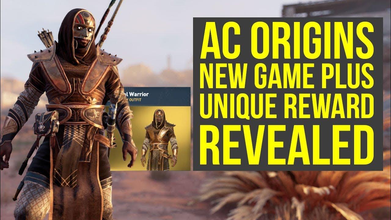 Assassin S Creed Origins New Game Plus Reward Revealed New Outfit Ac Origins New Game Plus Youtube
