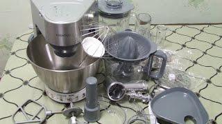 Обзор лучшего  кухонного комбайна  KENWOOD KM280 Моя покупка Новогодняя